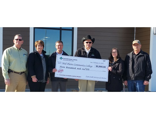 Valentine Campus receives $5,000 grant
