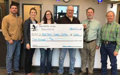 Mid-Plains Community College Receives Donation
