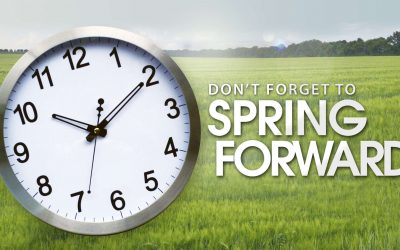 Spring Forward This Sunday!