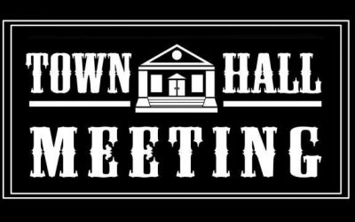 Town Hall Meeting March 25th