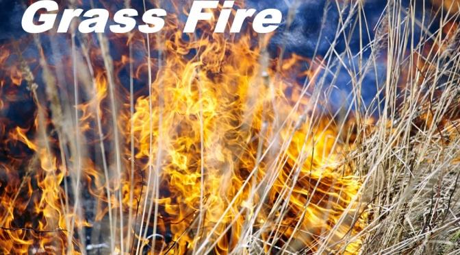 Grass Fire Southwest of Johnstown