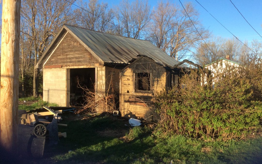 VFD Responds to Shed Fire