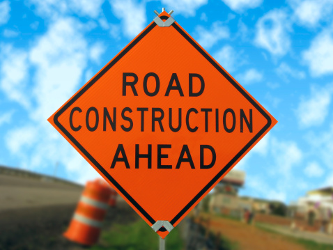 Road Work On Highway 12