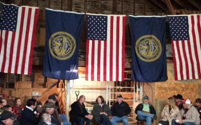 Roundtable Held At Sen. Fischer's Ranch