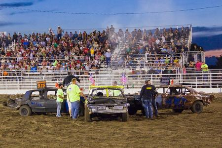 Demolition Derby and Fireworks July 4th