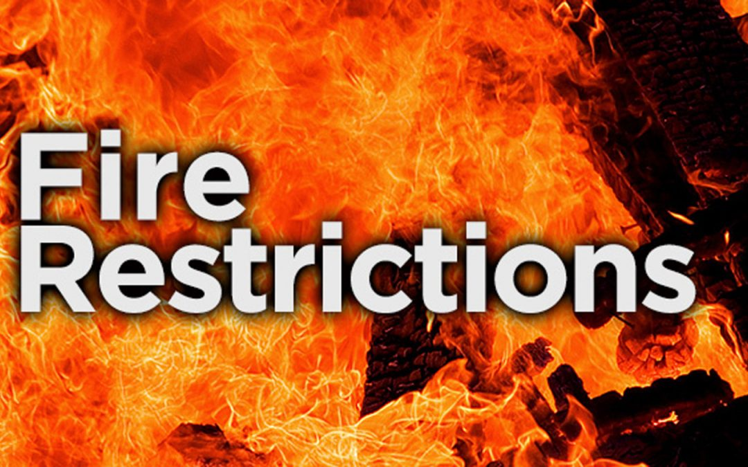 Brown County Issues Fire Restrictions, Cherry County Issues Advisories