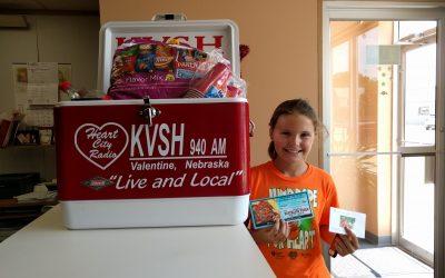 KVSH Cooler Winner and More!