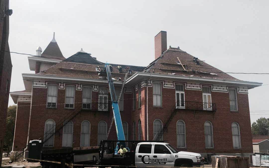 New Roof Going In On Centennial Hall