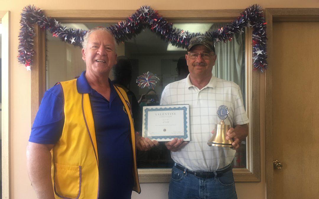 KVSH Radio Honored by Lions Club