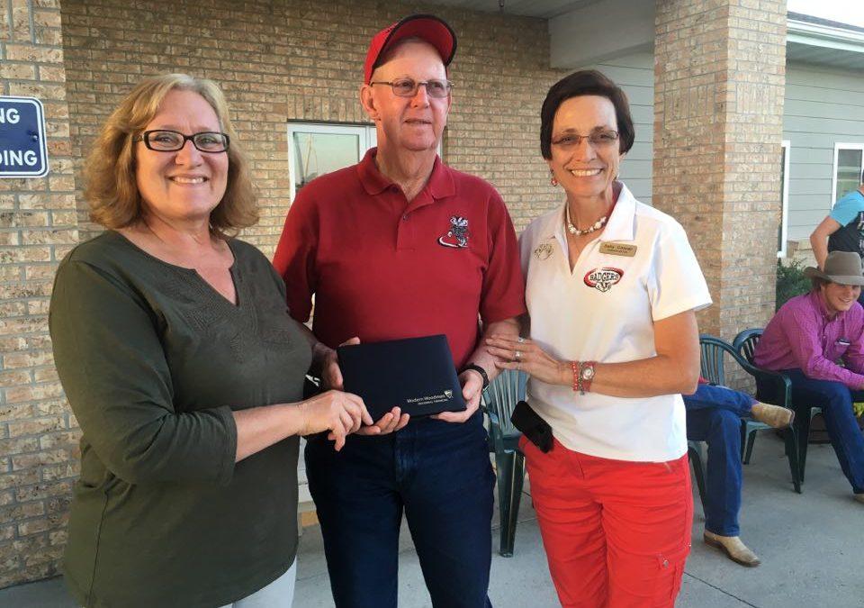 Bud Reece Honored as Hometown Hero