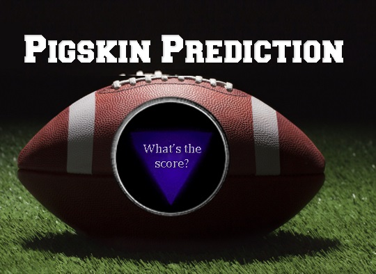 Pigskin Prediction Contest Update