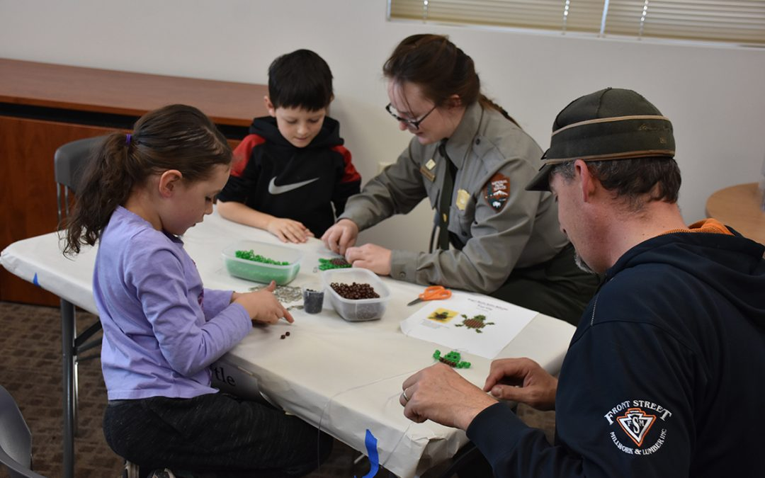 Kids' Craft Day at the Niobrara NSR Visitor Center
