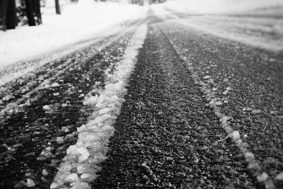 Icy Roads Lead to Accidents