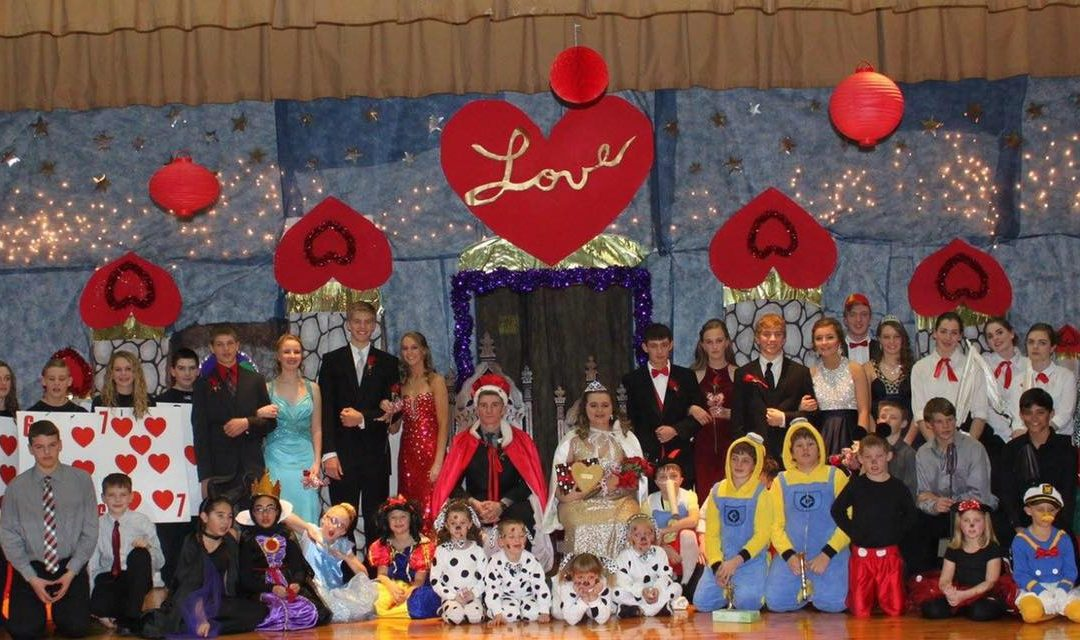 Valentine Annual Coronation