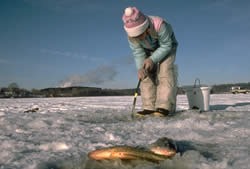 Women's Ice Fishing Clinic Jan 13th