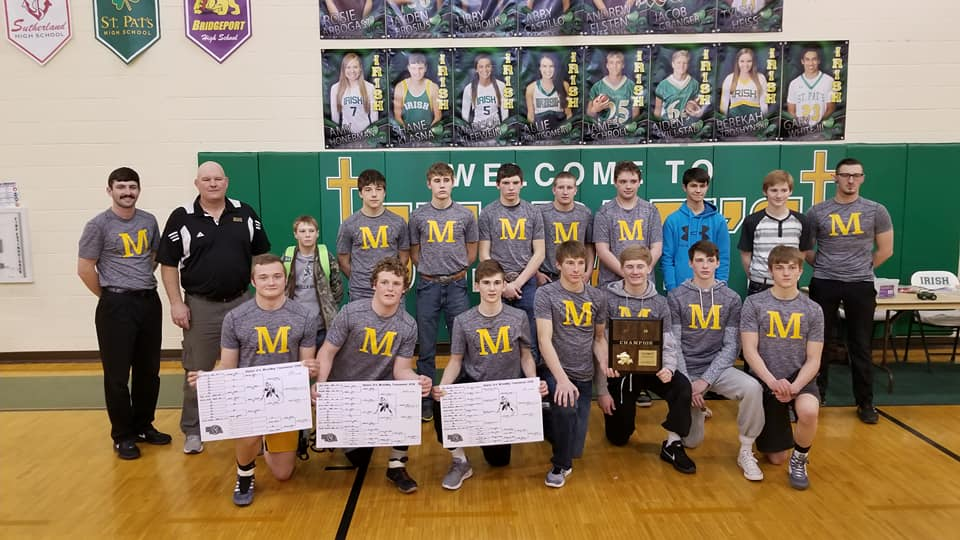 Mullen Champs of D-4 District Wrestling