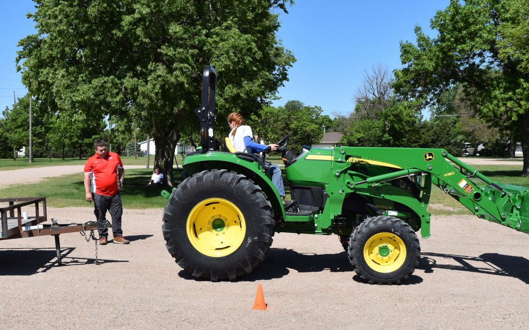 Tractor Safety Class in June
