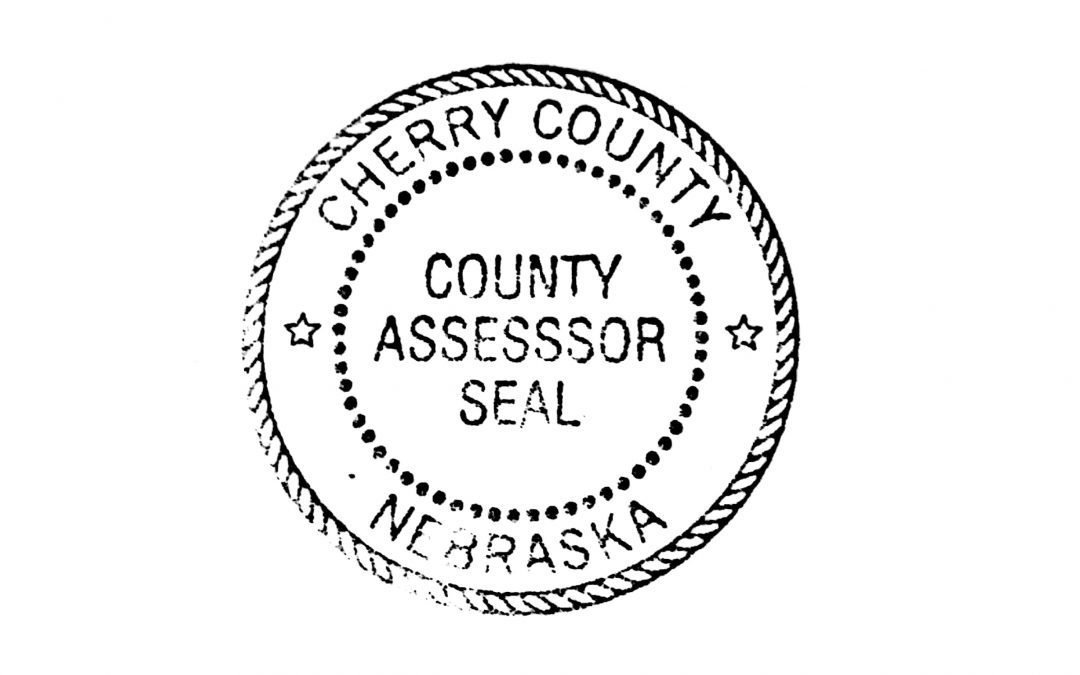 Cherry County Assessor Notice