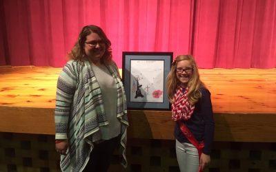 Stephanie Buechel Poppy Poster Contest Winner