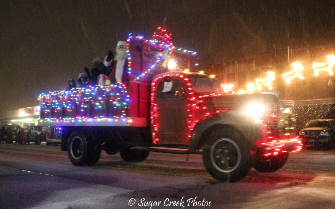 The 5th Annual Parade of Lights Celebration on November 30th at 6pm.