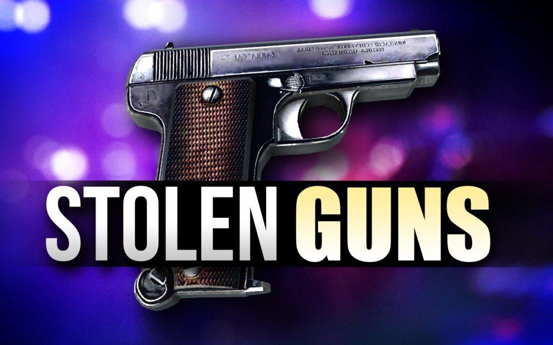 RST Offering Reward for Stolen Guns