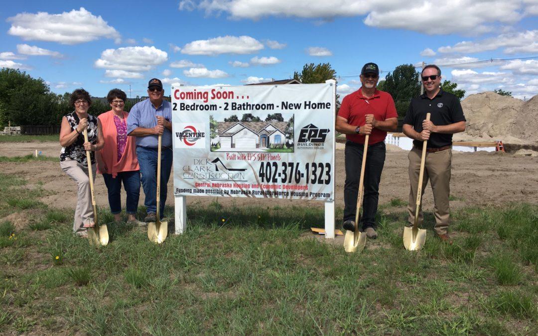Ground Breaking on New Housing Venture