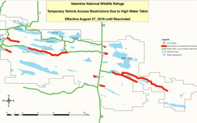 Limited Access on Refuge Roads