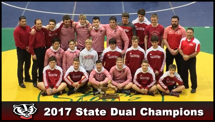 Badgers Win State Duals
