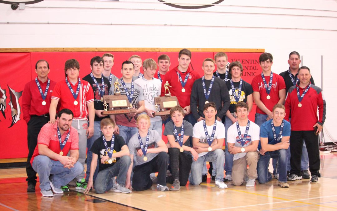 Valentine Wrestlers Honored