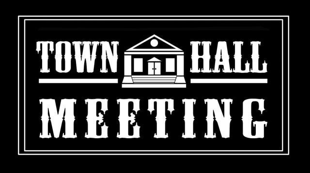 Town Hall Meeting Oct 9th in Thedford