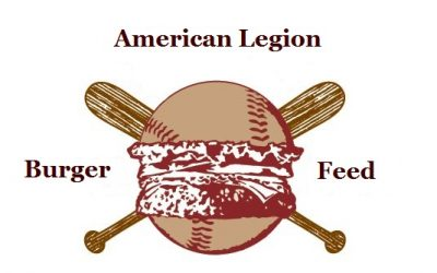 Legion Burger Feed on Friday April 6th!