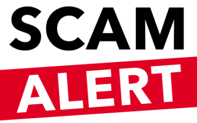 Beware of Uptick in Scams