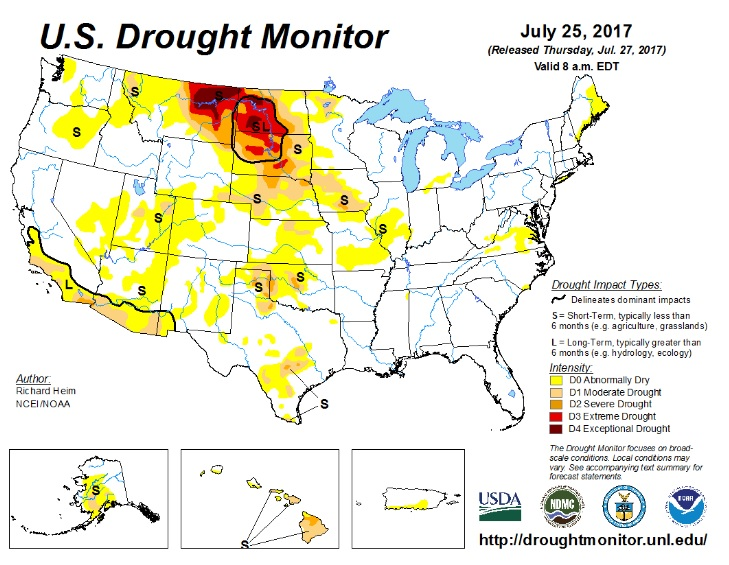 Drought Conditions Continue
