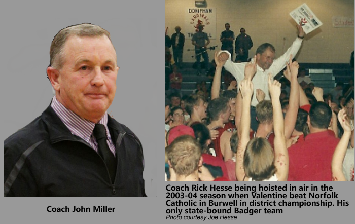 Hesse to be Inducted into the Nebraska High School Sports Hall of Fame