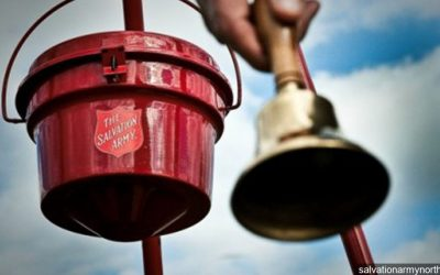 Salvation Army Bell Ringing Report