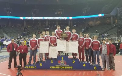 State Wrestling Champs!