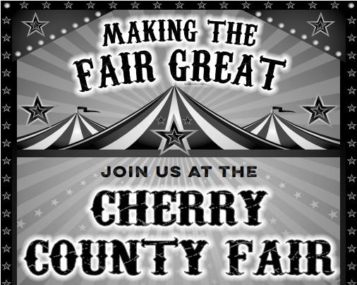 Entertainment at Cherry County Fair Trade Show