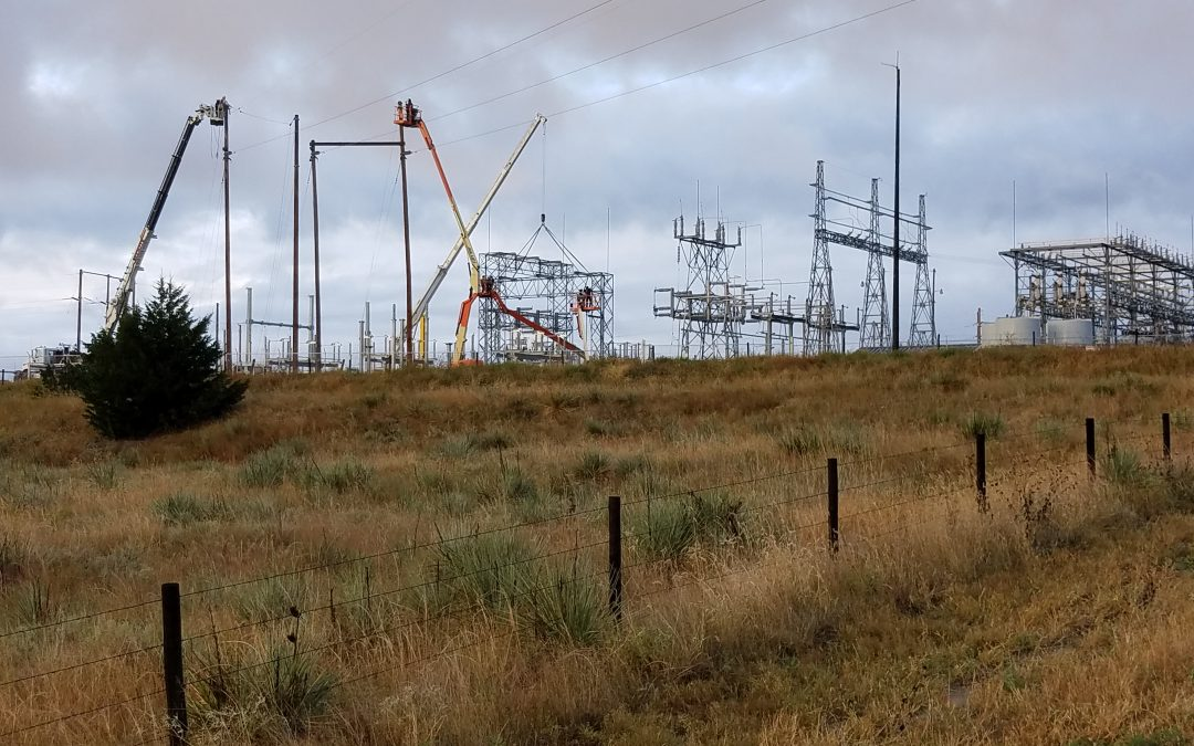 NPPD Continues Work on Substation Near Valentine