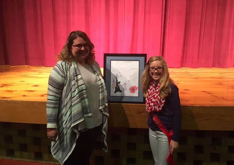 Stephanie Buechel Poppy Poster Contest Winner