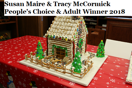 Gingerbread House Contest Winners