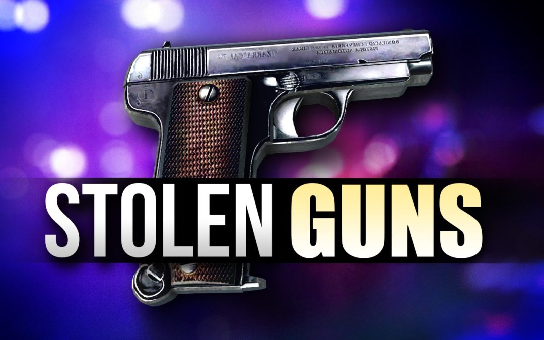 RST Offering Reward for Stolen Guns