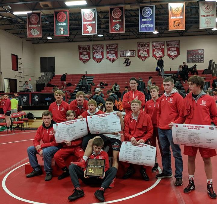 District Wrestling Champs!