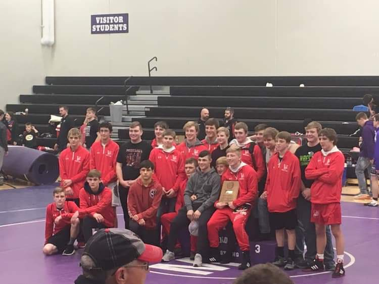 Valentine Wrestlers Take 2nd Friday