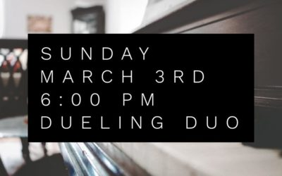 Dueling Duo Rescheduled