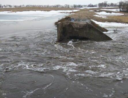 Hidden Timber Dam Fails