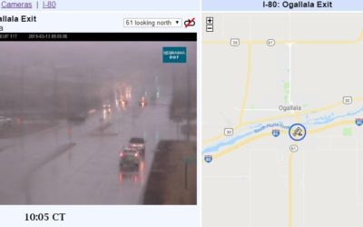 I-80 Westbound to Close at Ogallala at 11:00 a.m. CDT