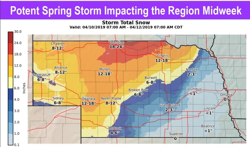 Region Braces for Midweek Storm