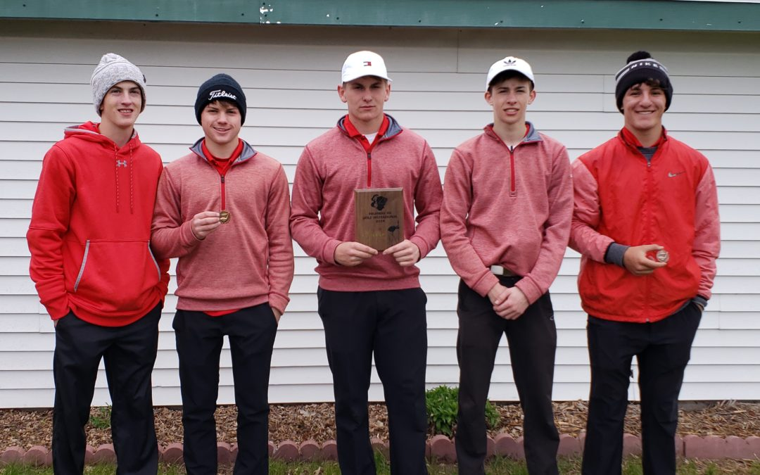 Valentine Badgers Place 2nd in Highway 20 Golf Invite