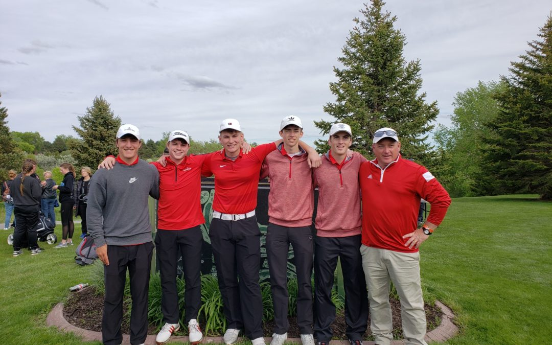 Boys State Golf Results