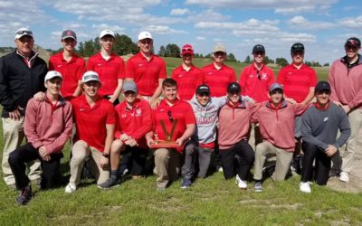 Boys Golf Wins Valentine Invite